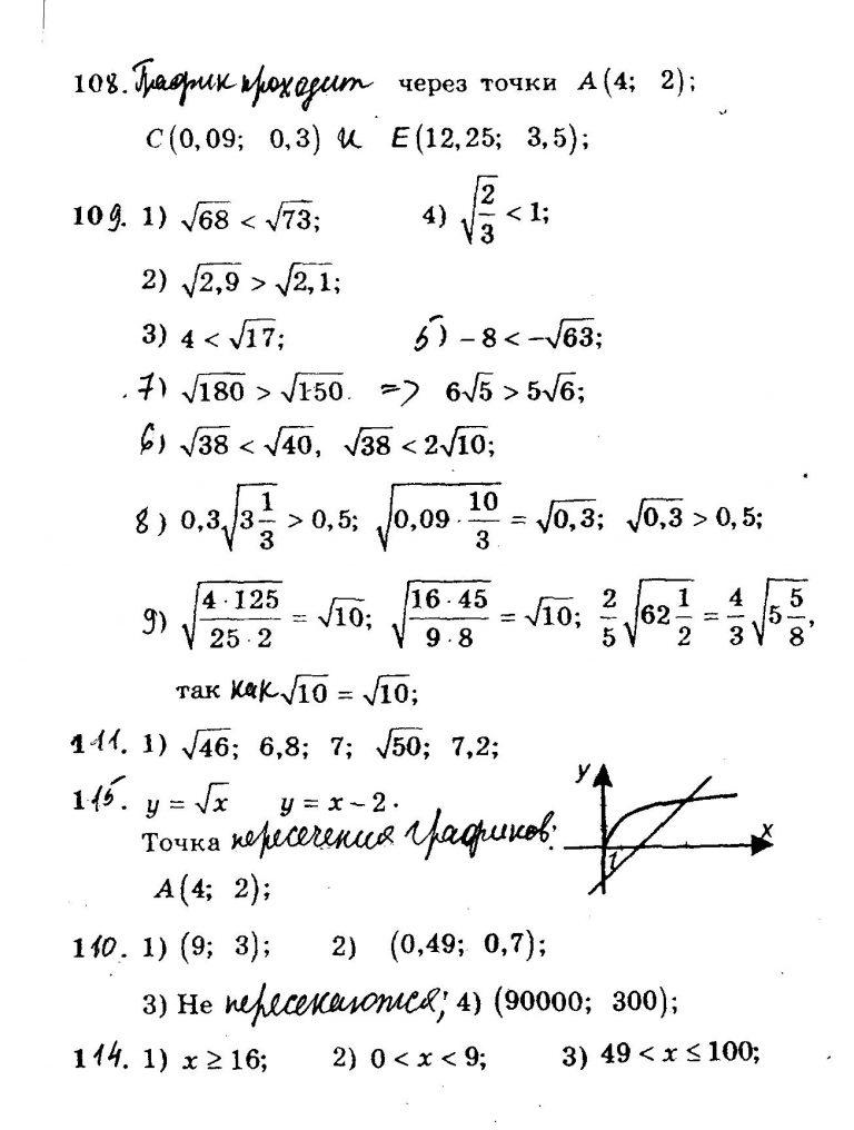 Гдз 8 класса по алгебре мерзляк
