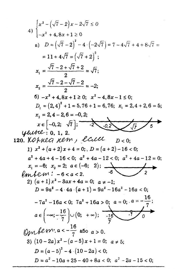 для г класса мерзляк алгебре по решебник 9